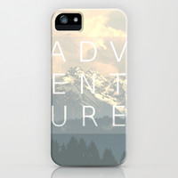 ADVENTURE iPhone & iPod Case by SUNLIGHT STUDIOS Monika Strigel
