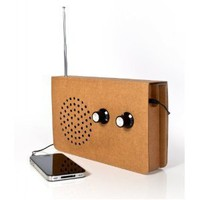 Cardboard Radio