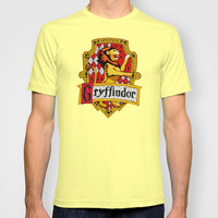 Harry potter Gryffindor team flag Adult Tee T-shirt by Three Second