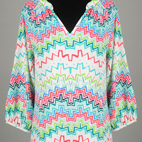 Dreamer Blouse - Electric