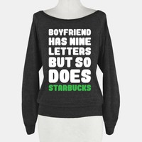 Starbucks Not Boyfriends