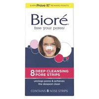 Biore Deep Cleansing Nose Strips - 8 Count