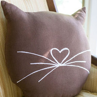 Feline Cozy Pillow