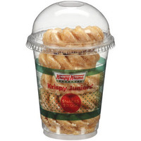 Walmart: Krispy Kreme Doughnuts Krispy Juniors Snacks To Go! Glazed Mini Cruller/Powdered Cake Doughnuts, 4 oz