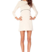 Oh Jackie Dress in Ivory :: tobi