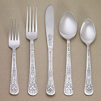 Henna Flatware Collection, Sets of 4 | Flatware| Kitchen & Dining | World Market