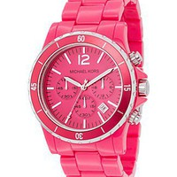 MICHAEL Michael Kors Pink Watch, 45 mm - Jewelry & Accessories - Bloomingdales.com