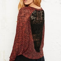 Staring at Stars Back Loop Crochet Top - Urban Outfitters
