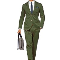 Suit Green Plain Copenhagen P3801i | Suitsupply Online Store