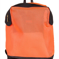 Neon Net Backpack - Neon Orange