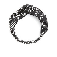 GEO TRIBAL PRINT TWISTED HEADWRAP