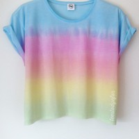 Tees To Dye For — Liberty Boxy Crop (Pre-order 1-2 working days)
