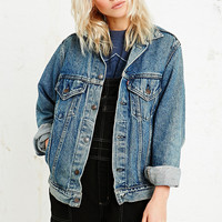 Vintage Renewal Levi's Denim Jacket in Blue - Urban Outfitters