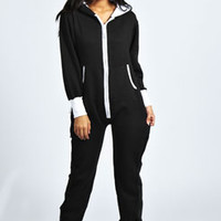 Lara Plain Hooded Onesuit