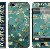 Van Gogh Blossoming Almond Tree iPhone Skin