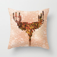 Flying Lights Throw Pillow by Anthony Londer
