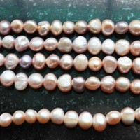 5 Strands Natural Genuine Light Purple Fresh Water Pearls Over 325 Pie - Other