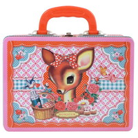 My Sweet Muffin - Deer Metal Lunch Box from England