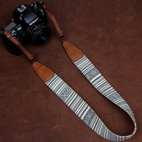 Denim DSLR Nikon/Canon/Sony Camera Strap - Camera Belt