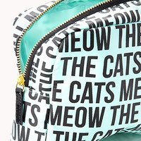 Cats Meow Midsize Cosmetic Bag