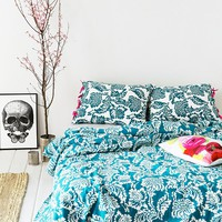 Magical Thinking Stamped Blossom Duvet Cover - Urban Outfitters
