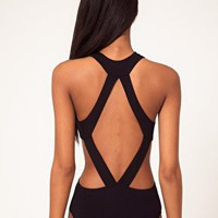Body With Strappy Cut Away at ASOS