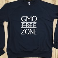 GMO free zone sweat