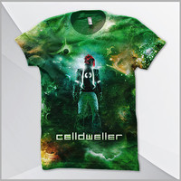 Celldweller - SVH Cellblock (2-Sided All-Over Print) T-Shirt