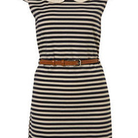 Striped Shift Dress by Rare** - Dresses - Clothing - Topshop