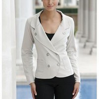 PONTE' KNIT BLAZER | Body Central