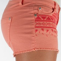 Celebrity Pink Desert Flower Stretch Short
