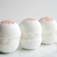 Caribbean Spa Bath Bomb - Essential Oil Bath Bombs - Aromatherapy Bath Bomb - Set of 3