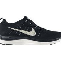 The Nike Flyknit Lunar1+ Women's Running Shoe.