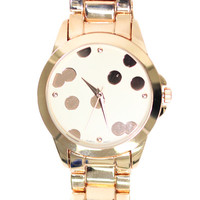 Classy Rose Gold Watch | uoionline.com: Women's Clothing Boutique