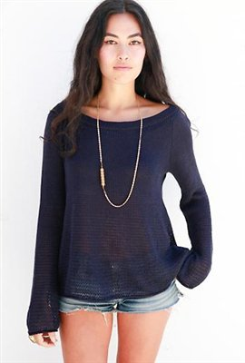 Goddis Bailey Sweater in Navy