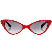 Marilyn Red Cat Eye Sunglasses
