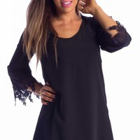 Falls dress in black | SHOWPO Fashion Online Shopping