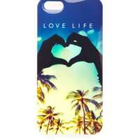 LOVE LIFE TROPICAL PHONE CASE - 5