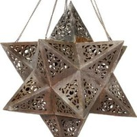 One Kings Lane - Molly Wood - Moroccan Star Hanging Light
