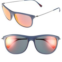 Prada 'Pilot' 56mm Sunglasses | Nordstrom
