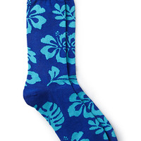 Tropical Cotton-Blend Socks