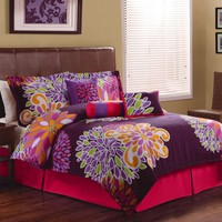 1st Apartment Flower Show Bedroom Collection Comforter Sets
