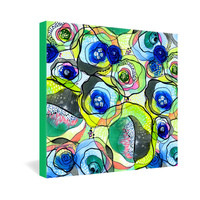 CayenaBlanca Molecular Tension Gallery Wrapped Canvas