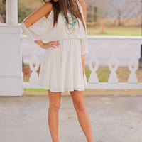 The Ivy Dress, Ivory