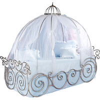 Disney Princess 6 Pc Twin Carriage Bedroom