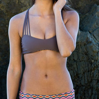 The Girl and The Water - ACACIA Swimwear - Samoa Bikini Top / Navajo - $110