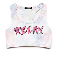 Dreamy Tie-Dye Relax Crop Top