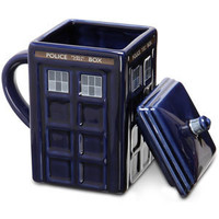 ThinkGeek :: TARDIS Mug