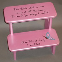 This Little Stool Is Mine...... | GreatCustomFurniture - Children's on ArtFire