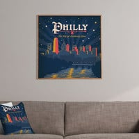 Anderson Design Group Philly Framed Wall Art